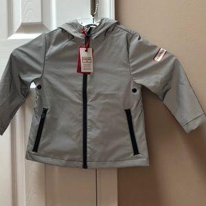 dfb338c69894a Hunter Jackets & Coats | For Target 2t Silvergray Rain Jacket | Poshmark